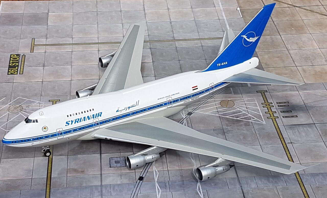 Syrianair Boeing 747SP