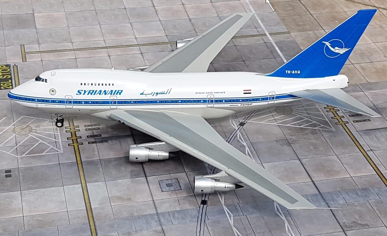 Syrianair Boeing 747SP1