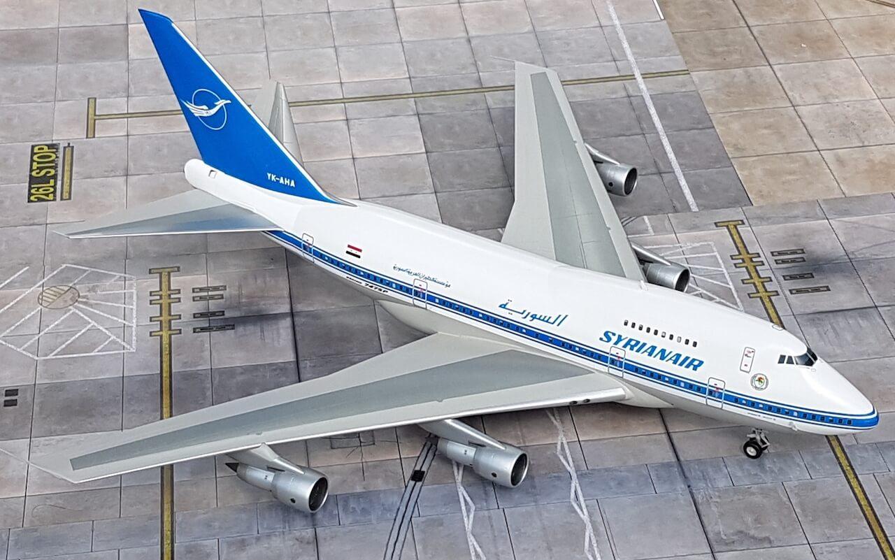 Syrianair Boeing 747SP2